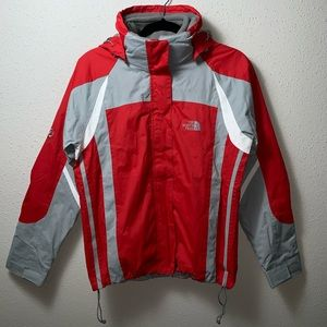 THENORTHFACE Womens Small Red Waterproof Parka